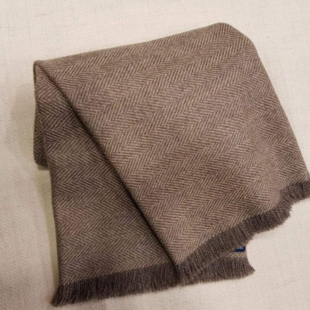 Tortilla Herringbone Tweed Scarf