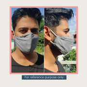 Assorted Set of 3 or 5 Cotton Masks (3 layered)
