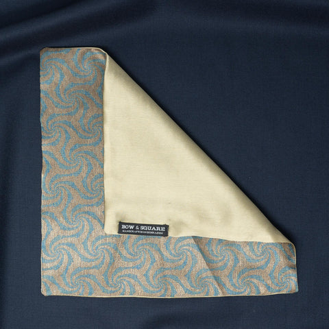 Sun & Sand Solid Green Pocket Square