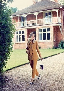 STEPFORD WIVES: LOVELY'S VINTAGE EMPORIUM IN HUF MAGAZINE FASHION SHOOT