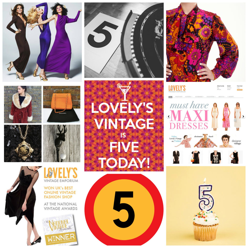 LOVELY'S VINTAGE EMPORIUM IS FIVE!