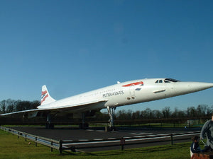 THE 50th ANNIVERSARY OF THE CONCORDE AEROPLANE