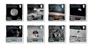 Post Office Stamps of 50th Anniversary of First Moon Landing
