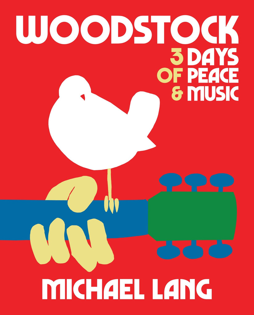 50th Anniversary Edition of Woodstock Book