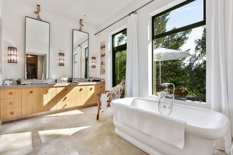 Robert Redford house bathroom