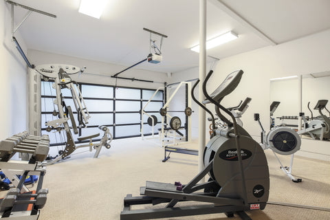Robert Redford house gym