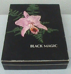 Vintage Black Magic chocolates box