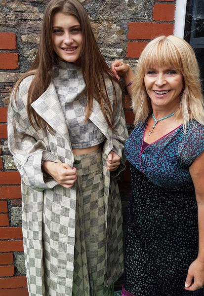 Lovely's Vintage model with Toyah