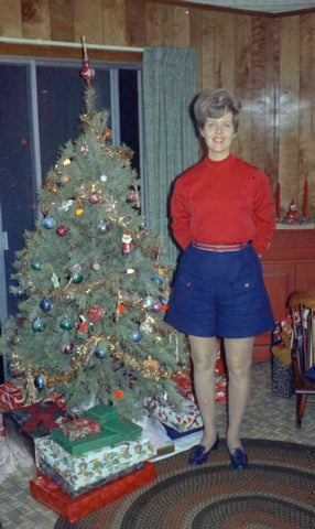 Vintage photo of Christmas