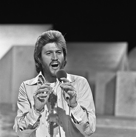 Barry Gibb from The Bee Gees