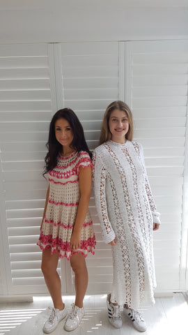 vintage crocheted dresses
