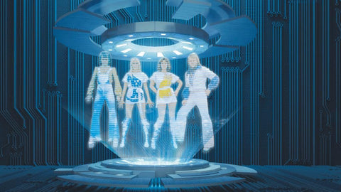 ABBA as holograms
