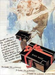 Vintage Black Magic chocolates advert