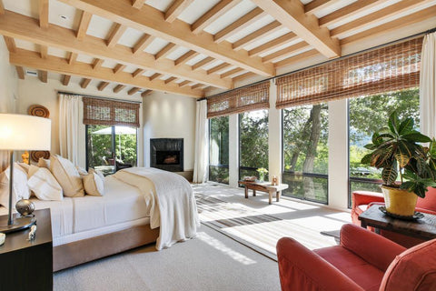 Robert Redford house bedroom