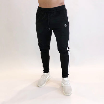 Striped Jogger - Black/White