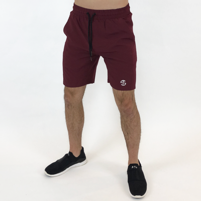 Tech Shorts - Burgundy