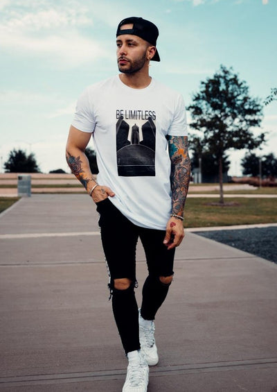 Be Limitless Tee - White