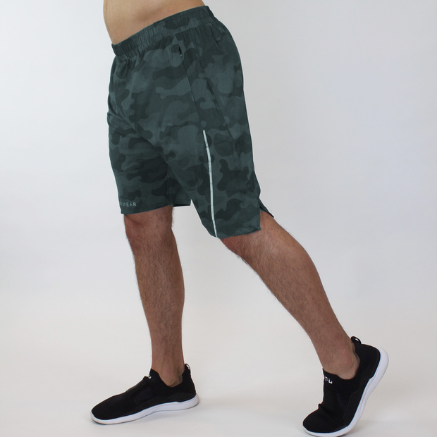 Performance Shorts - Green Camo - Skywear