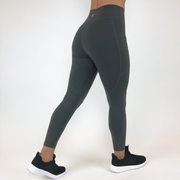 Sedona Pocket Leggings - Slate Grey - Skywear