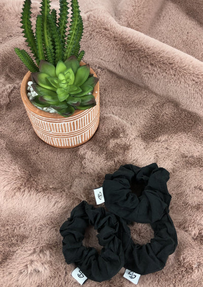 Scrunchie - Black - Skywear