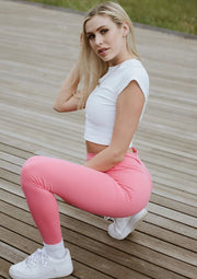 Mantra Scrunch Legging - Pink