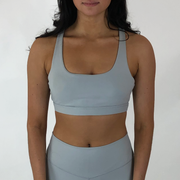 Mandala Sports Bra - Platinum - Skywear