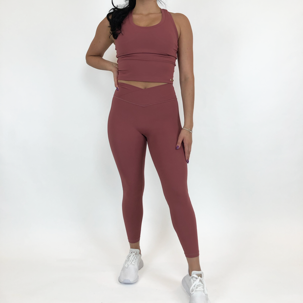 Everyday Legging - Rosewood - Skywear
