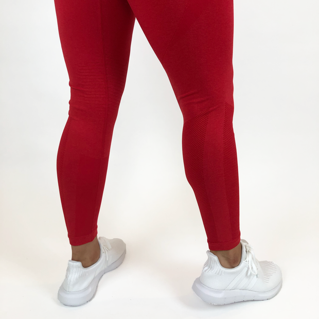 Legacy Seamless Legging - Red