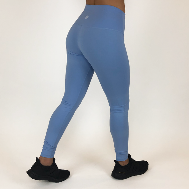 Mantra Leggings - Sky Blue - Skywear