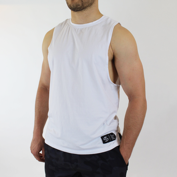 Performance Tank - White - Skywear