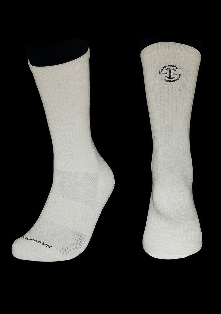 Athletic Socks - White (1 pair) - Skywear
