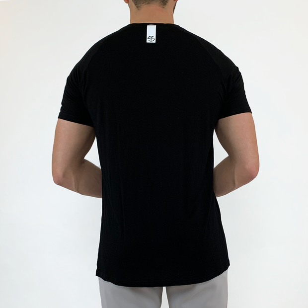 Stretch Tee - Black - Skywear