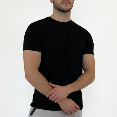 Stretch Tee - Black