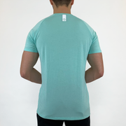 Stretch Tee - Aqua - Skywear