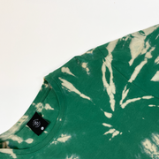 Solace Lifestyle Tee - Emerald Tie Dye