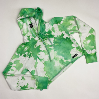 Cropped Hoodie - Tie Dye (Size S)