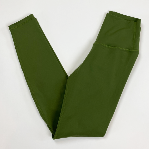 Scrunch Leggings - Olive