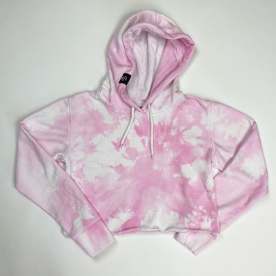 Cropped Hoodie - Tie Dye (Size M)