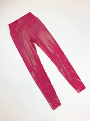 Scrunch Leggings - Pink Tie Dye