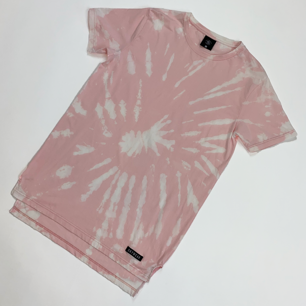 Solace Lifestyle Tee - Light Pink Tie Dye