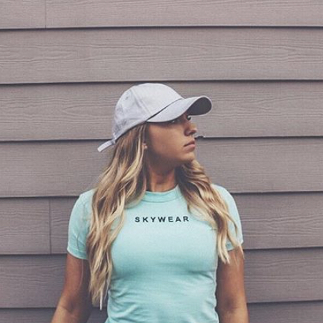 Fitted Tee - Seafoam
