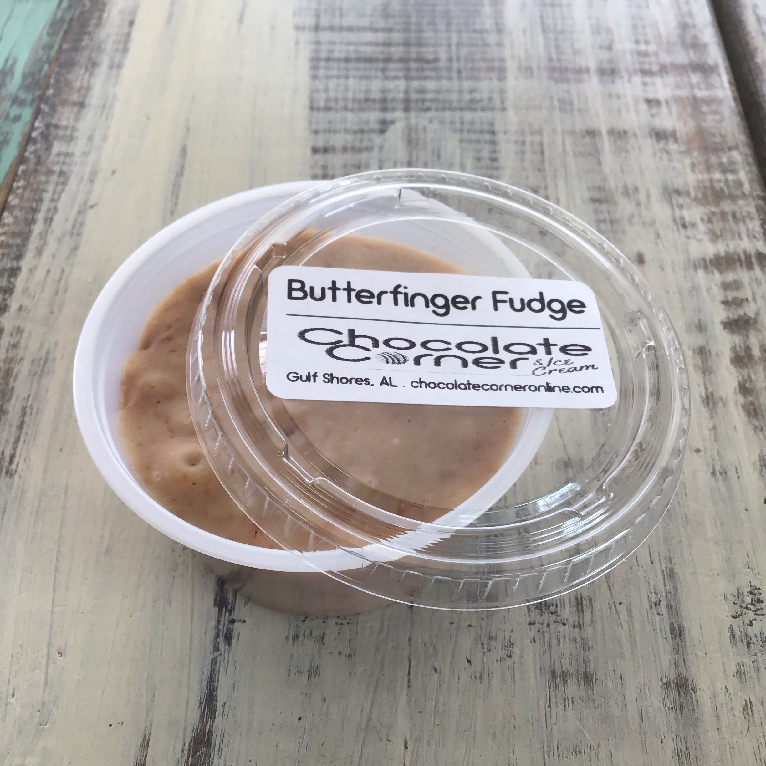 Butterfinger Fudge Cup