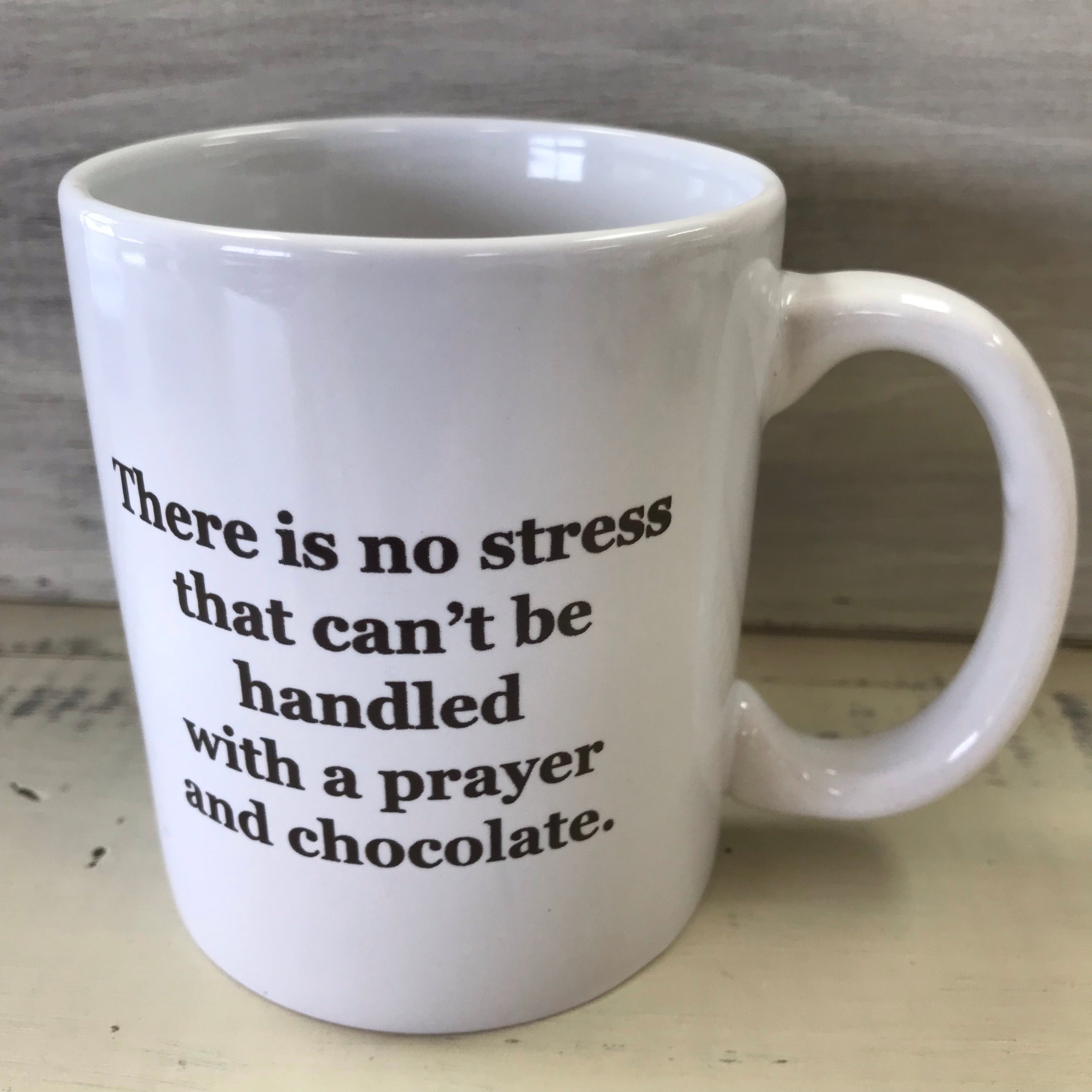 """There is no stress....."