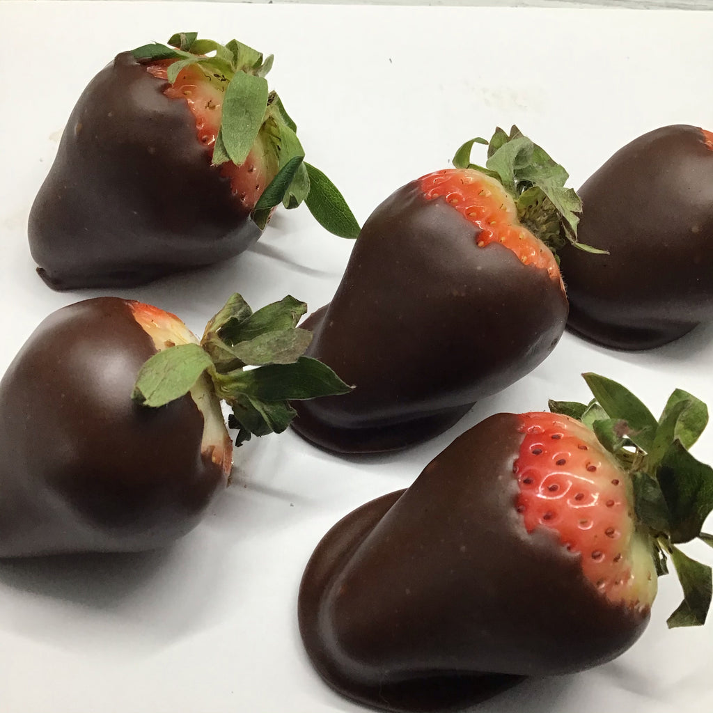 Fudge Dipped Strawberries - In Store Pickup Only