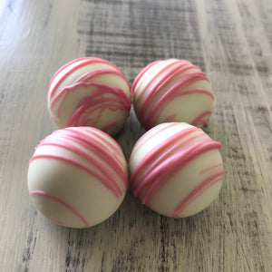 White Chocolate Raspberry Truffle