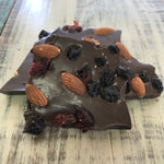 Dark Chocolate ABC Bark