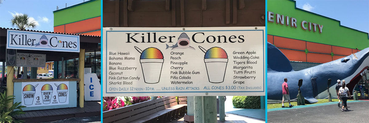 Killer Cones Snow Cones - Chocolate Corner