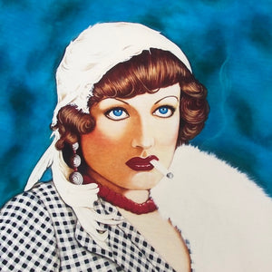 """Joan Crawford"" Print by Florida Artist Joseph Sonday"