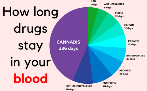 How long does weed stay in your blood?