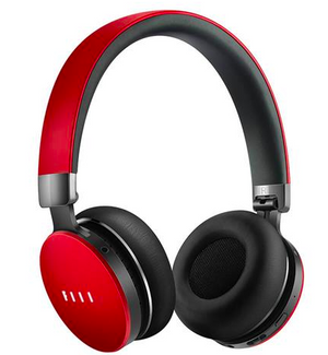 FIIL Canviis Pro Wireless Headphones with Mic Bluetooth 4.1 HiFi Active Noise Cancelling - Red